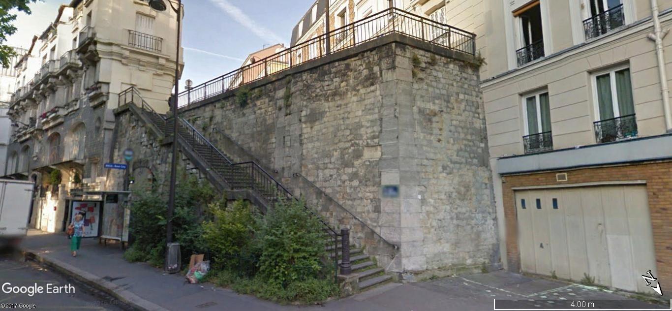 Escaliers peints de Paname et d'ailleurs. Illusions d'optiques de ZAG et SIA A60