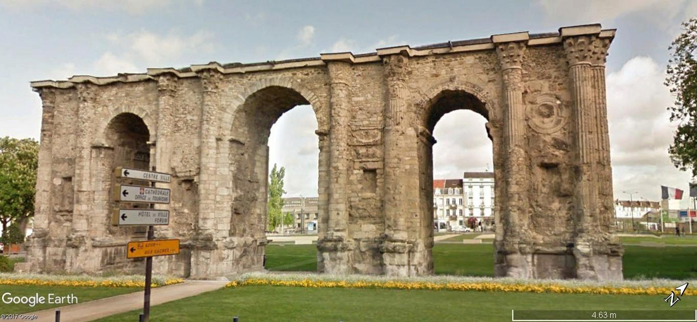 Antiquités romaines sous l'oeil de Google Earth - Page 2 A79