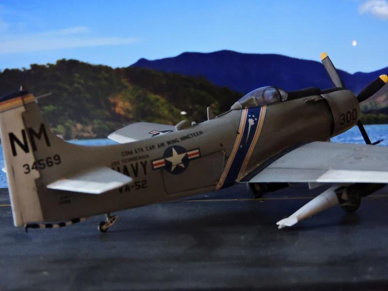 [AIRFIX] skyraider A 18 Skyrai35
