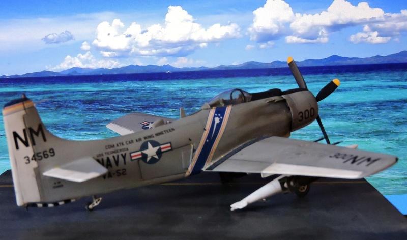 [AIRFIX] skyraider A 18 Skyrai36