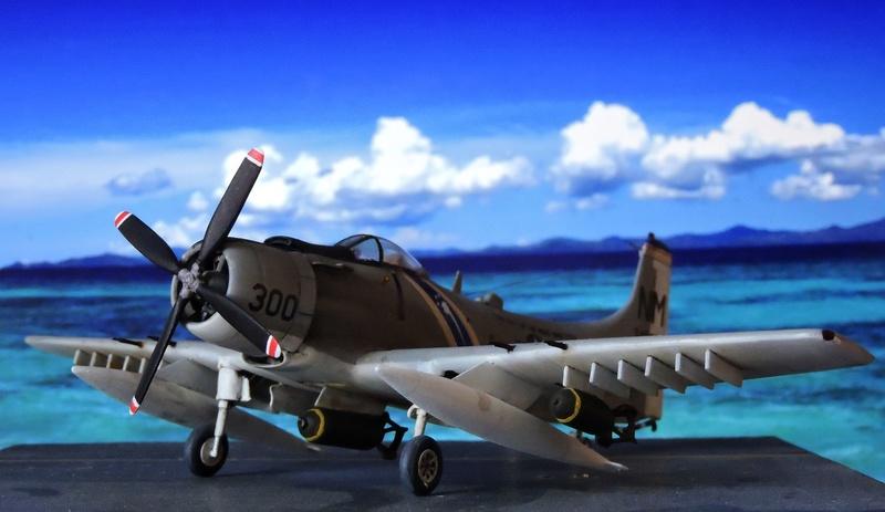 [AIRFIX] skyraider A 18 Skyrai40
