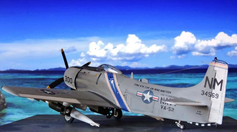[AIRFIX] skyraider A 18 Skyrai41