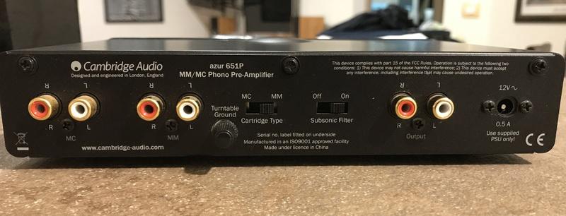[RM] Pre phono - Cambridge Audio 651P Img_3815
