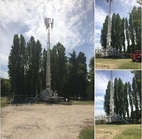 Bouygues Telecom renforce sa 4G pour une meilleure couverture sur les Solidays Antenn10