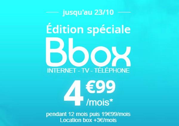 L'offre Bbox (ADSL) à 4,99€/mois pendant 12 mois  Bbox-s10