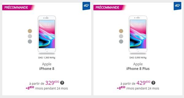 Bouygues Telecom propose, évidement, aux fans d Apple de réserver leur  smartphone fétiche afin de l avoir le jour J, l iPhone 8 64Go est proposé à  partir de ... 1c606467103b