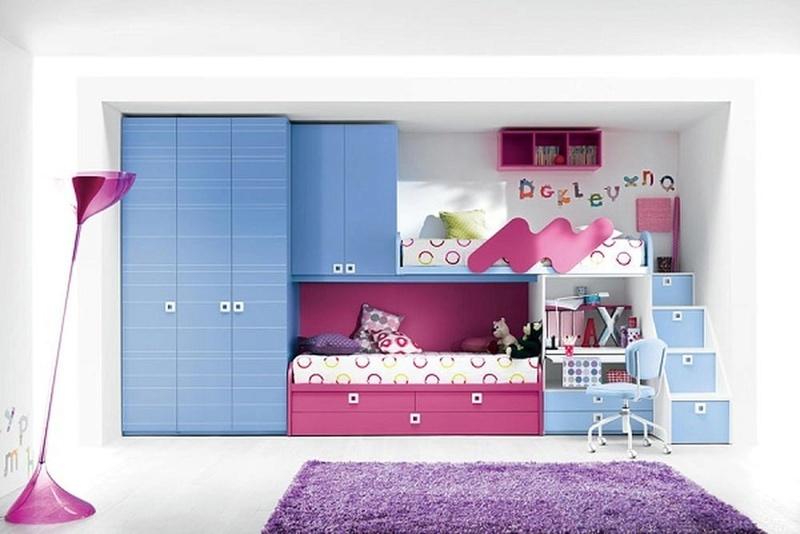 غرف نوم أطفال بتصاميم عملية للمساحات الصغيرة 13860610
