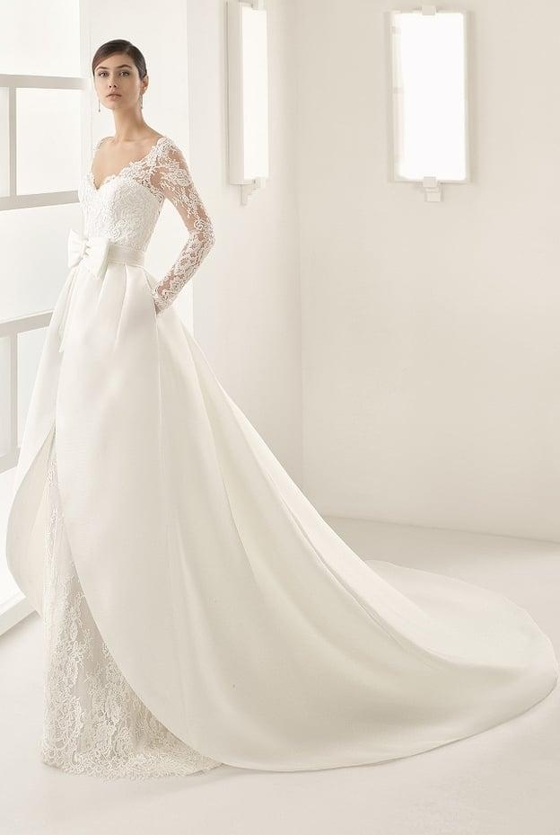 كيف تختارين فستان زفافك بحسب جسمك؟ 13989511