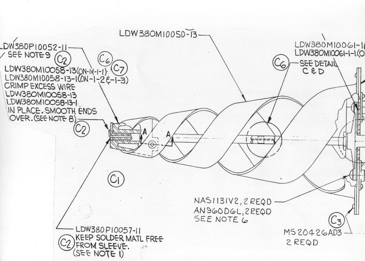 Plan antenne module lunaire Sb-210