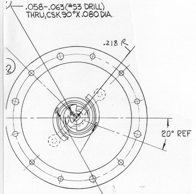Plan antenne module lunaire Sb-310