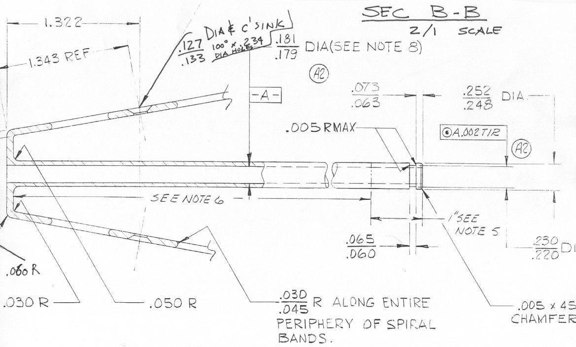 Plan antenne module lunaire Sb-sec11