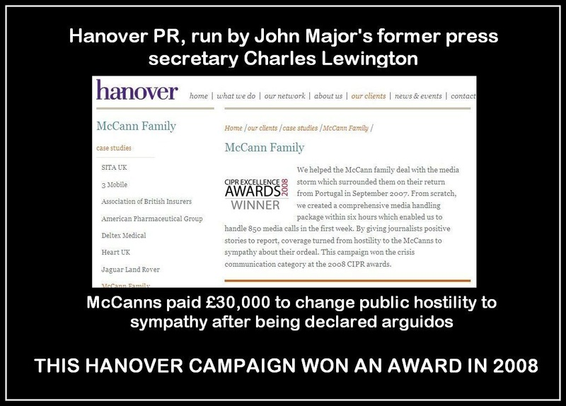 Was this ANOTHER hidden 'Fund' expense to prevent UK learning the truth?  Hanove10