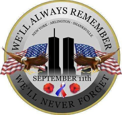 September 11 2001 WE WILL NEVER FORGET 11850610