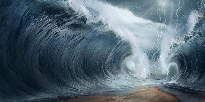 WATCH: Hurricane Splitting of Sea in Florida Like Scene Out of Exodus Aseadi10