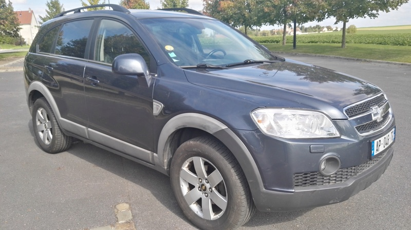 SUV 4x4 CHEVROLET CAPTIVA 7 PLACES 2L VCDi 150ch LT Pack Img_2040