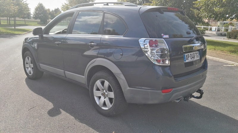 SUV 4x4 CHEVROLET CAPTIVA 7 PLACES 2L VCDi 150ch LT Pack Img_2041