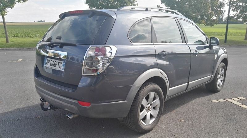 SUV 4x4 CHEVROLET CAPTIVA 7 PLACES 2L VCDi 150ch LT Pack Img_2043