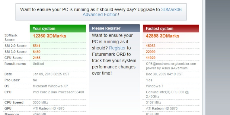 posez vos screens 3d mark 3d3_bm10