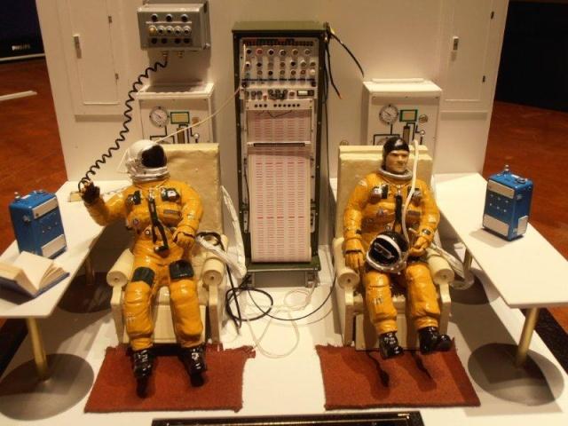 Salle de préparation pour STS 1 - Diorama 00210