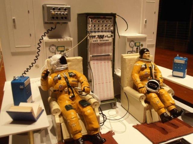 Salle de préparation pour STS 1 - Diorama 00310