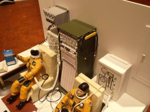 Salle de préparation pour STS 1 - Diorama 00710