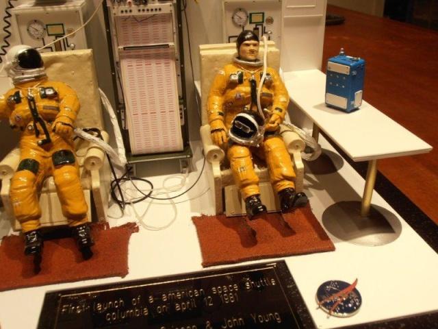 Salle de préparation pour STS 1 - Diorama 01010