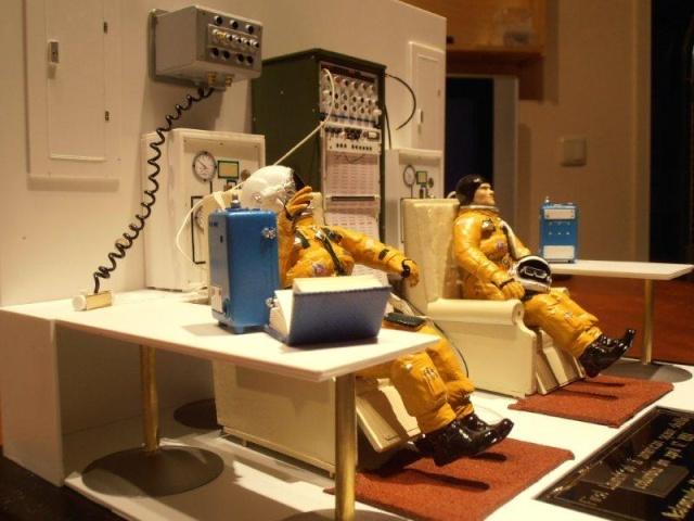 Salle de préparation pour STS 1 - Diorama 01410