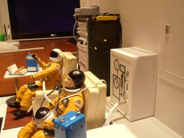 Salle de préparation pour STS 1 - Diorama 01510