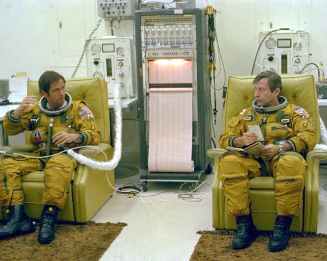 Salle de préparation pour STS 1 - Diorama 06041010