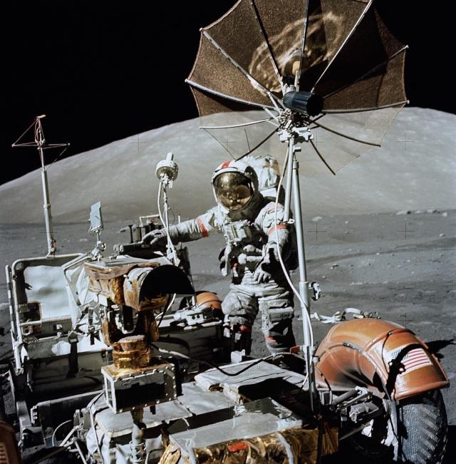 les 40 ans Apollo 17  Apollo12
