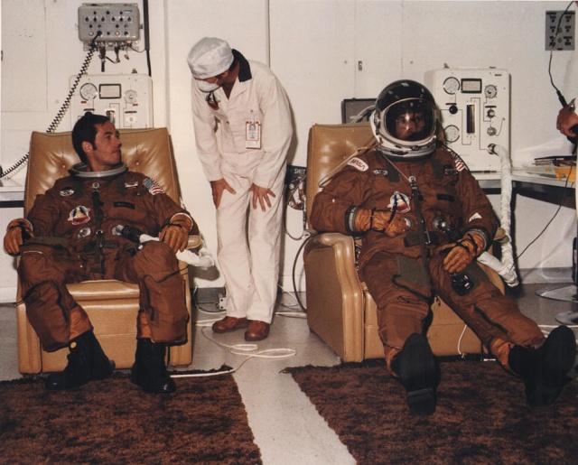 Salle de préparation pour STS 1 - Diorama Sts12010