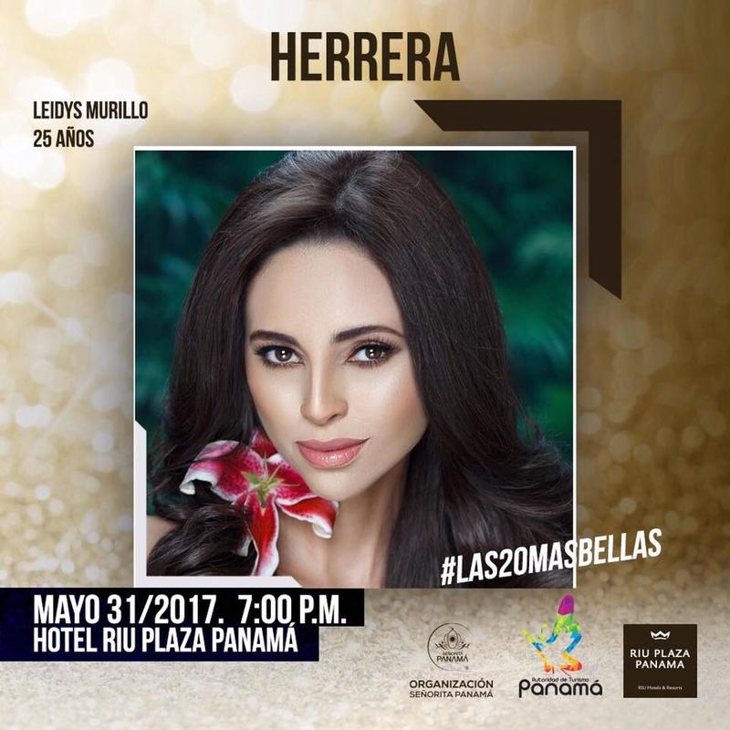 Señorita Panama 2017 is Contadora 18485610