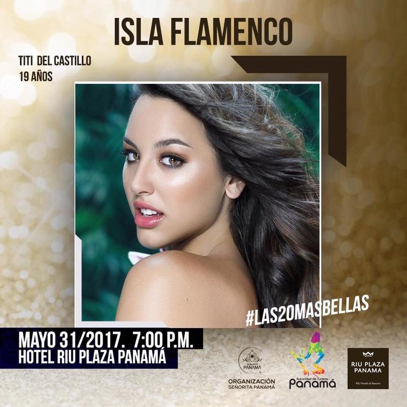 Señorita Panama 2017 is Contadora 18485910