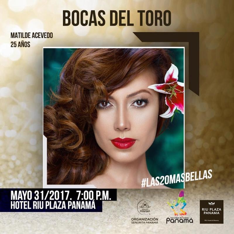 Señorita Panama 2017 is Contadora 18557110