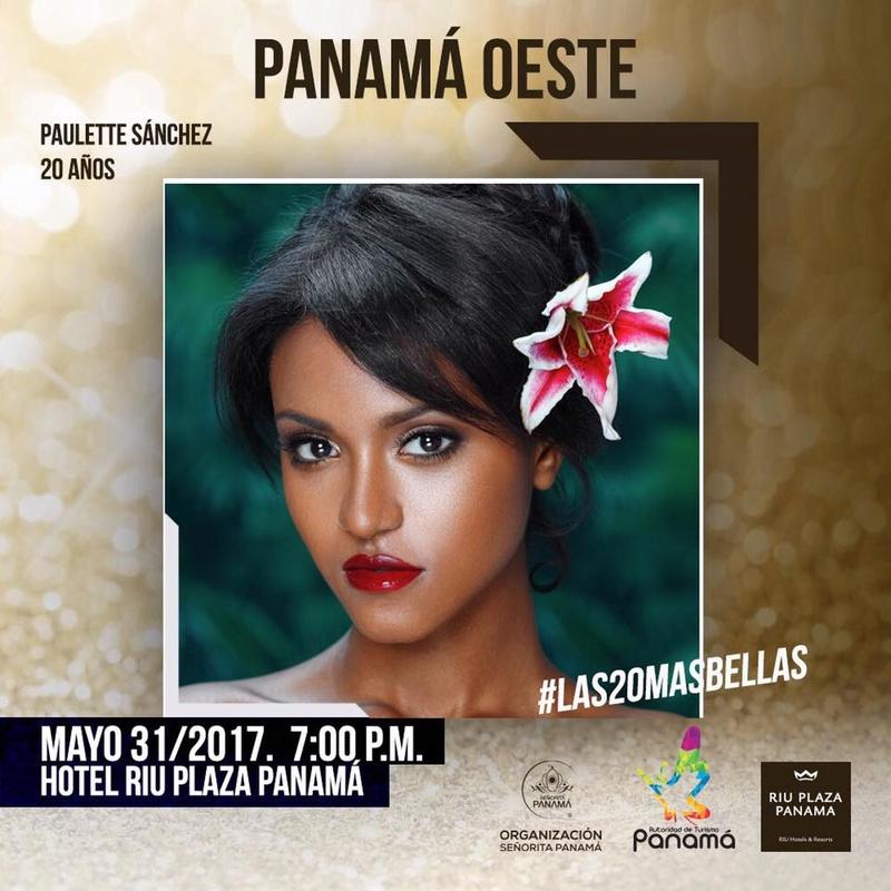 Señorita Panama 2017 is Contadora 18557410