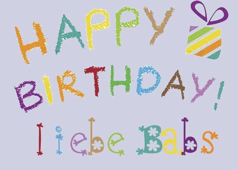 Happy Birthday Babs Kztuzr10