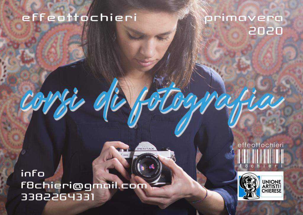 Corsi di fotografia f8chieri primavera 2020 Fronte12