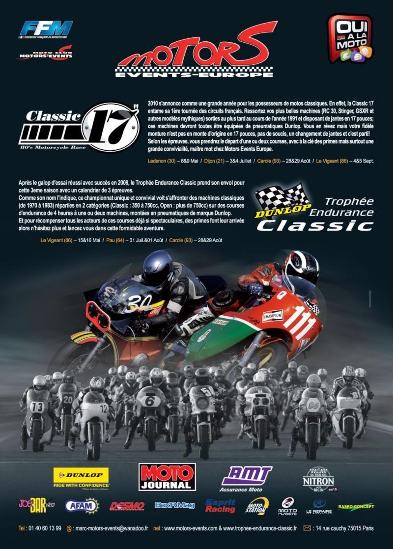 Le Trophée d'Endurance Classic Affich10