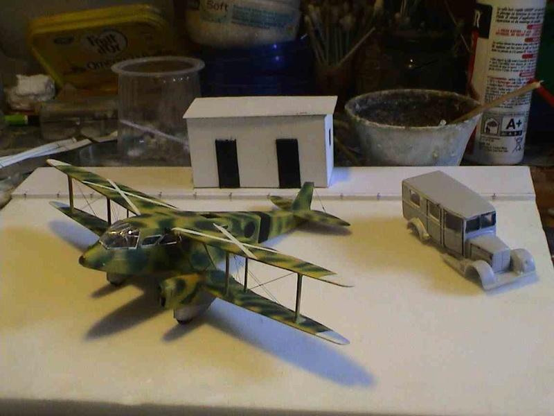 [Heller] De Havilland DH89 Dragon Rapide + Conversion DH 84 Dragon - Page 3 Dh13710