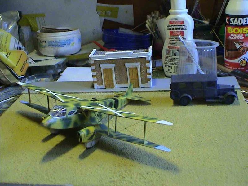 [Heller] De Havilland DH89 Dragon Rapide + Conversion DH 84 Dragon - Page 3 Dh14810