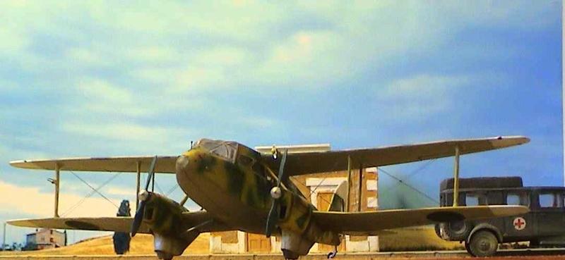 [Heller] De Havilland DH89 Dragon Rapide + Conversion DH 84 Dragon - Page 3 Dh15510