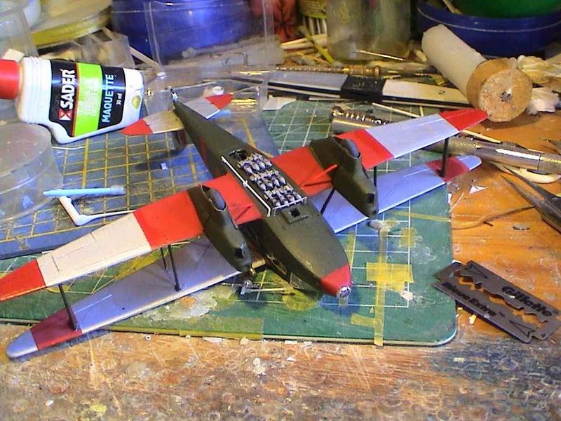 [Heller] De Havilland DH89 Dragon Rapide + Conversion DH 84 Dragon - Page 3 Dh16210