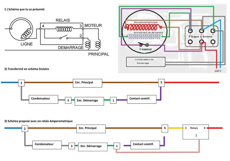 Remplacement d'un relai centrifuge par un relai temporisé Schema11