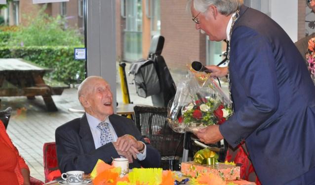 Edenaar bereikt 100-jarige leeftijd 10010