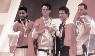 Madé Westra is wereldkampioen Taekwondo 141