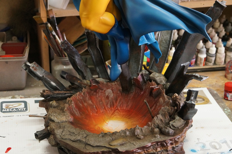 Sentry 1/4 scale sculpt Baniel Bel production bushi collector Dsc09816