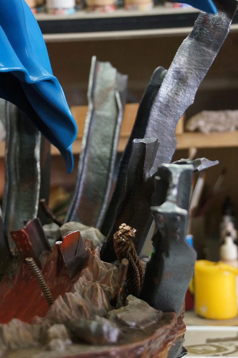 Sentry 1/4 scale sculpt Baniel Bel production bushi collector Dsc09819