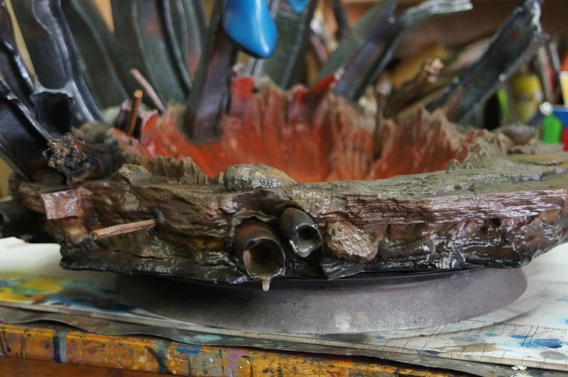 Sentry 1/4 scale sculpt Baniel Bel production bushi collector Dsc09820