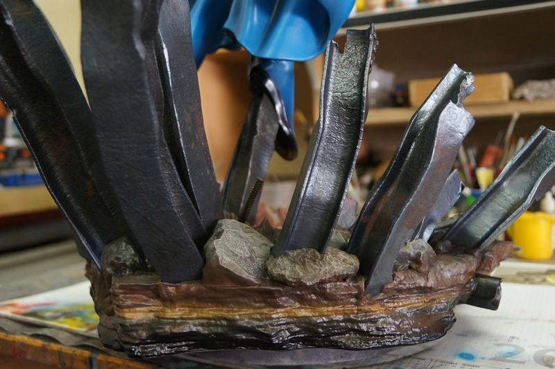 Sentry 1/4 scale sculpt Baniel Bel production bushi collector Dsc09824