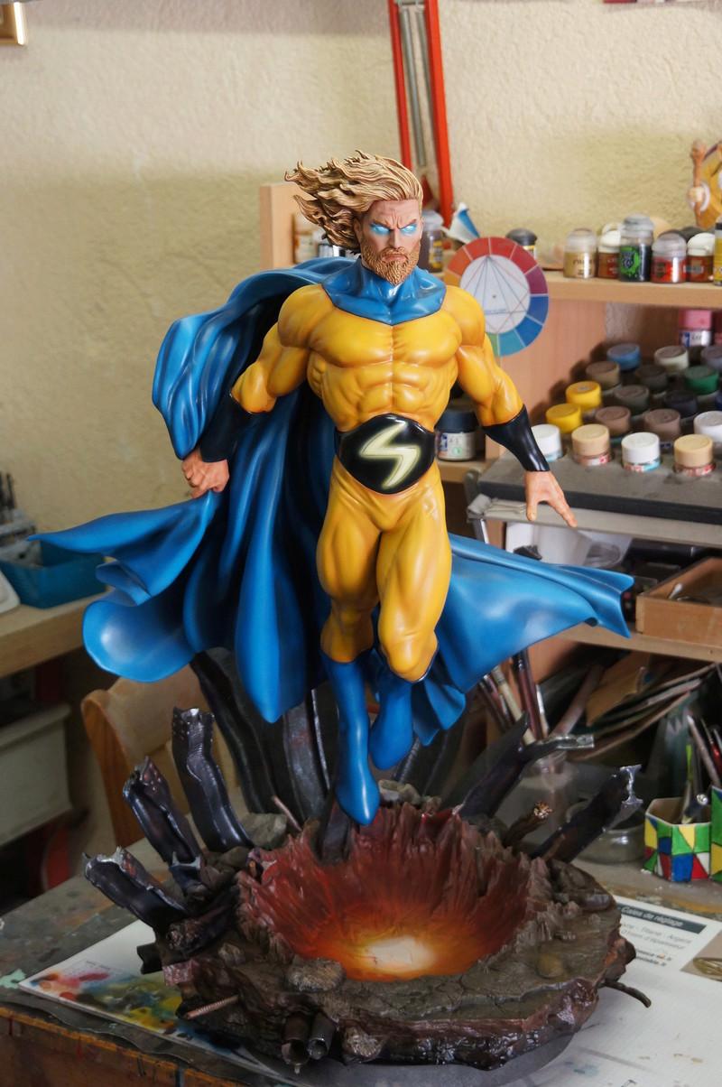 Sentry 1/4 scale sculpt Baniel Bel production bushi collector Dsc09842